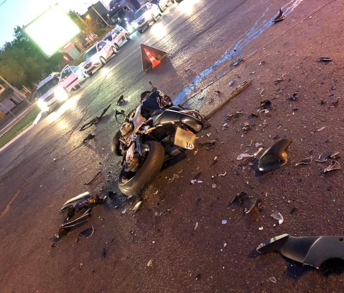 В Астрахани проводится проверка по факту гибели молодого мотоциклиста