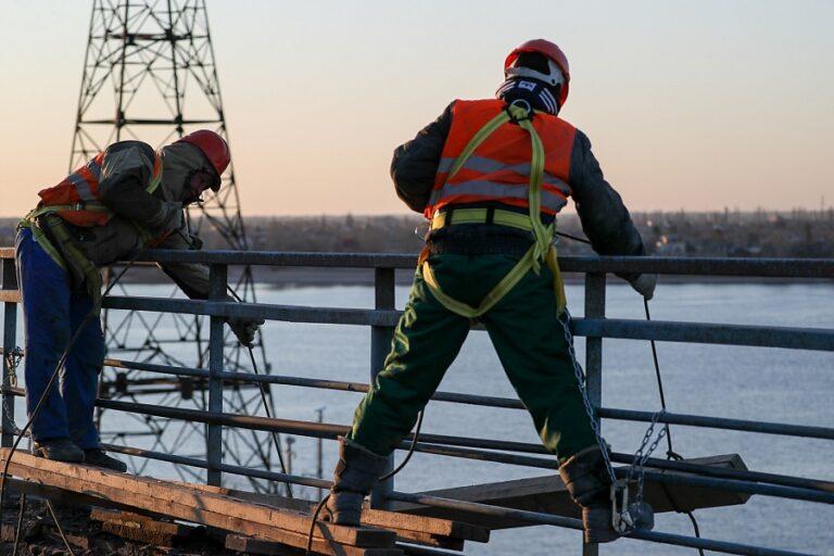 Ремонт дороги на Волжской ГЭС продолжится и в следующем году