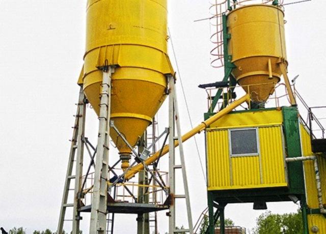 На острове Голодном строят бетонный завод для возведения блока очистных сооружений