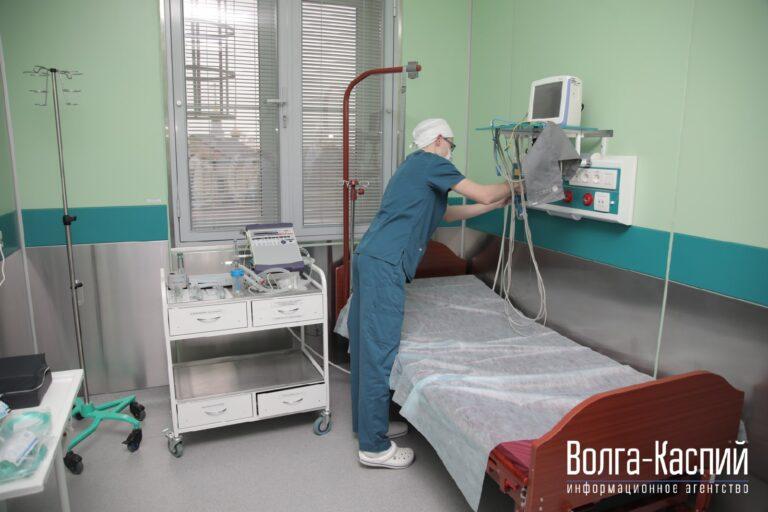 В Волгоградской области количество заражений COVID-19 снова идет на спад