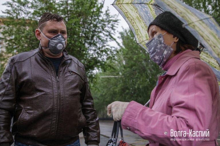В Волгограде усиливается контроль за нарушителями введенного режима