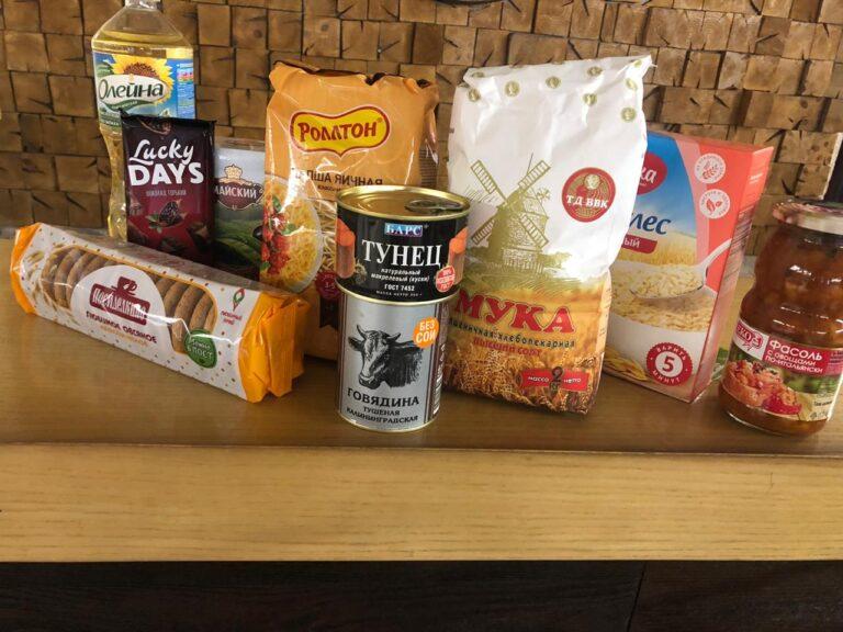 В Волжском малоимущие семьи получат продуктовые наборы