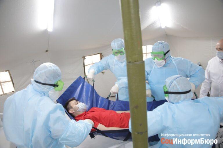 В Волгограде зараженных COVID-19 будут размещать в психиатрической больнице