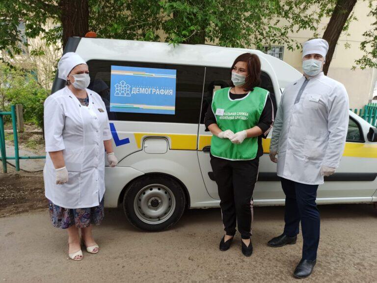 Пожилых пациентов в сельских районах области обещают лечить на дому