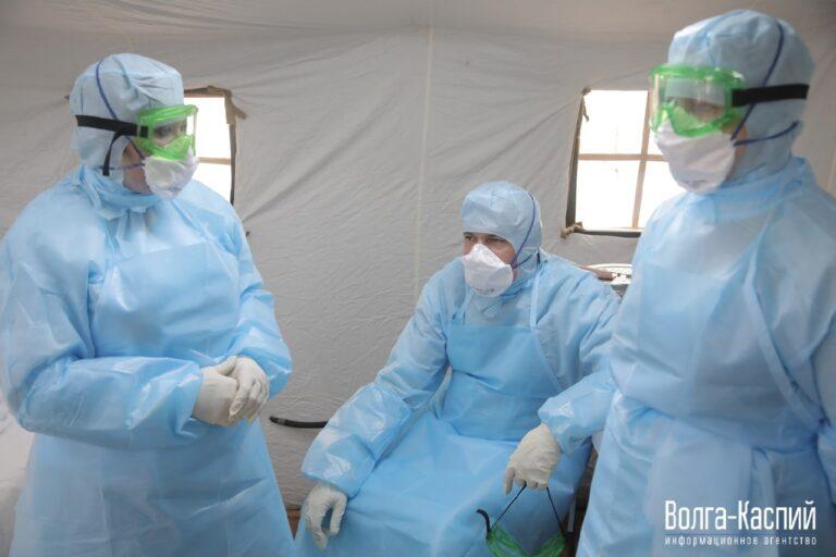 В Волгоградской области у 90 медработников диагностировали коронавирус
