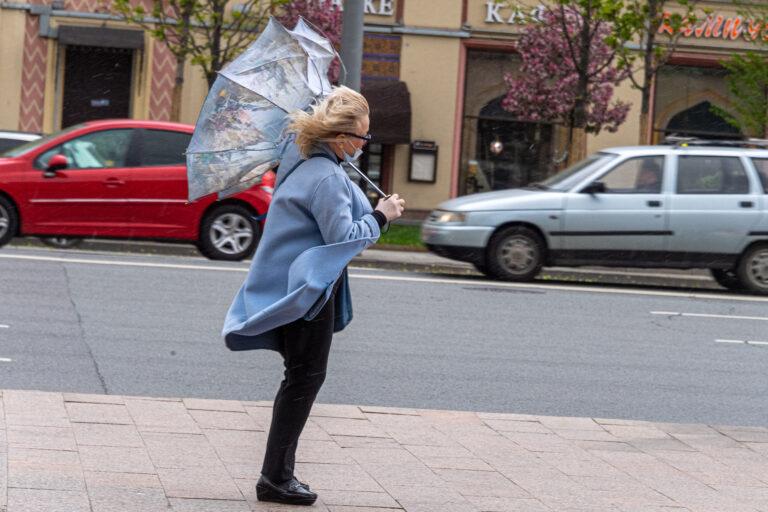 В Волгограде и области ожидается усиление ветра