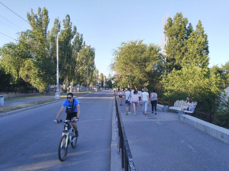 В Волгограде определили интенсивность движения на улице Чуйкова напротив водокачки