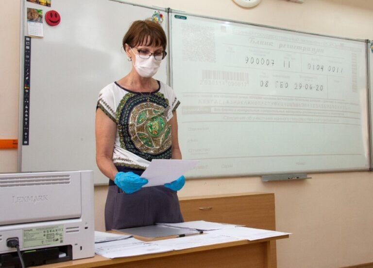 В Волжском прошел пробный ЕГЭ без выпускников