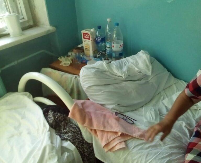 Жительница Урюпинска пожаловалась на жуткие условия в госпитале для коронавирусных больных