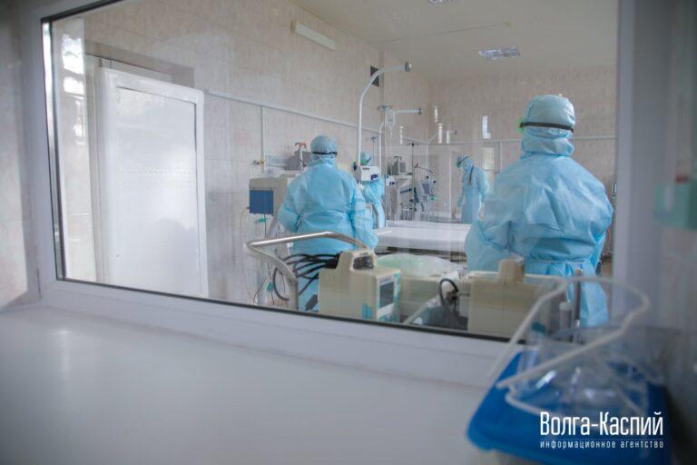 В Волгограде закрыли первый госпиталь для пациентов с COVID-19