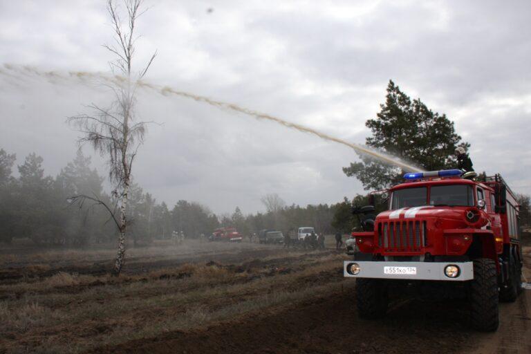 МЧС предупреждает о высокой пожароопасности в Волгоградской области