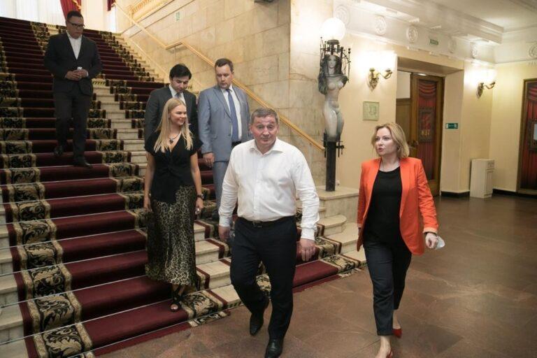 Министр культуры  Ольга Любимова одобрила реконструкцию НЭТа в Волгограде