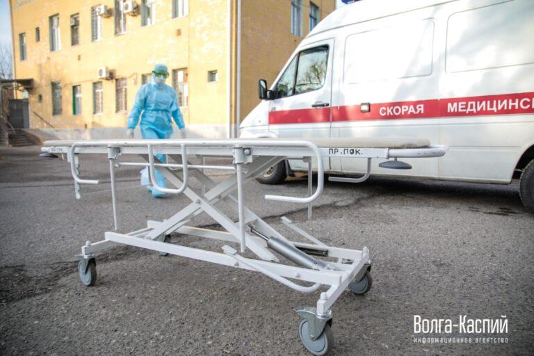 В Волгоградской области не снижается заболеваемость коронавирусом