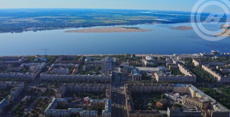 «Технично и монументально»: 11 километров Волгограда показали с высоты