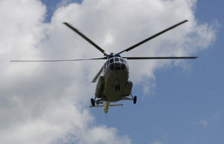 Вертолет Ми-8 МЧС России вылетел в Калачевский район Волгоградской области