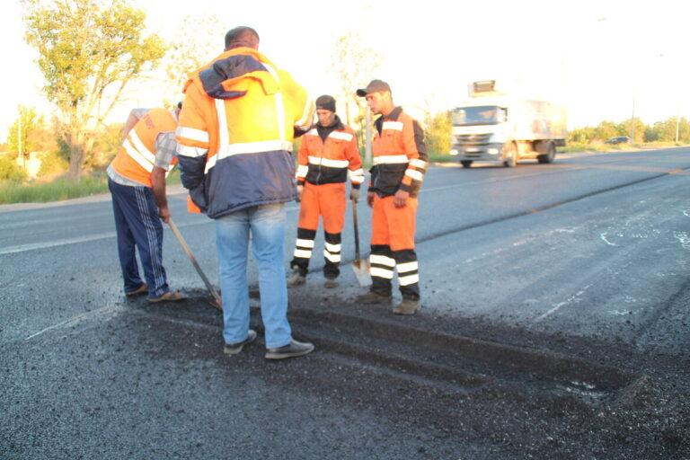 В Красноармейском районе Волгограда из-за ремонта на две недели перекрыли улицу