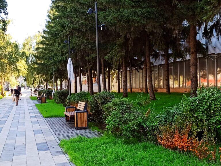 В Самаре обновили популярный бульвар на улице Мичурина