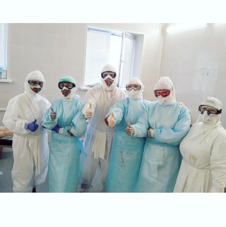 В стенах астраханского ковидного госпиталя АМОБ рождено пятеро малышей