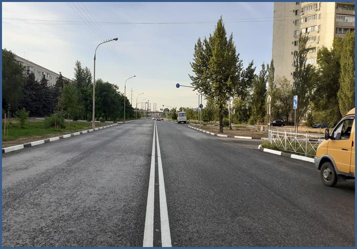 В Волжском завершается масштабный ремонт дорог