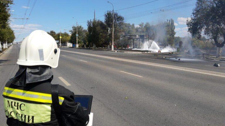 Эксперт озвучил возможные причины взрыва заправки в Волгограде