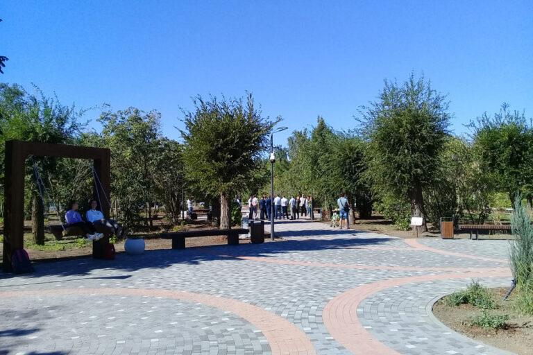 В Волжском завершили благоустройство трех крупных объектов