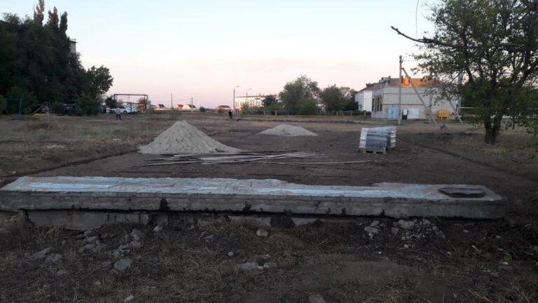 В Волжском благоустройство добралось до поселка ЛПК
