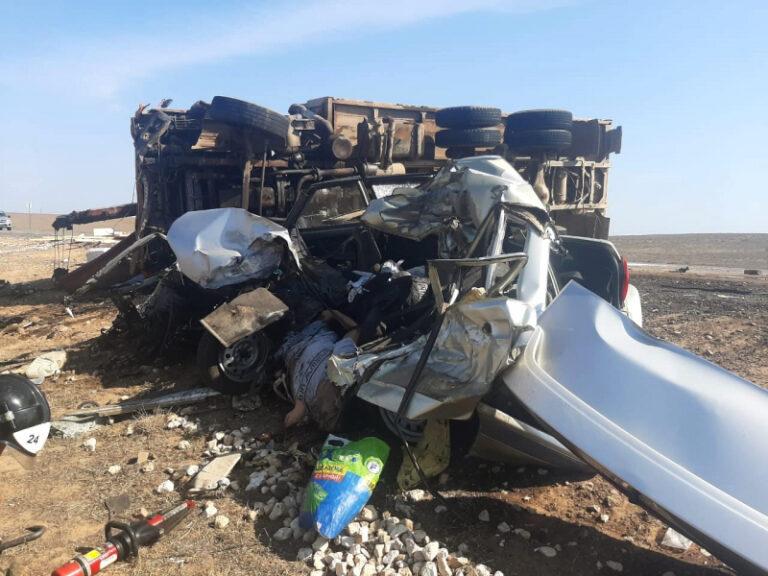 На трассе «Тамбов – Волгоград – Астрахань» в смертельной аварии с грузовиком погиб мужчина
