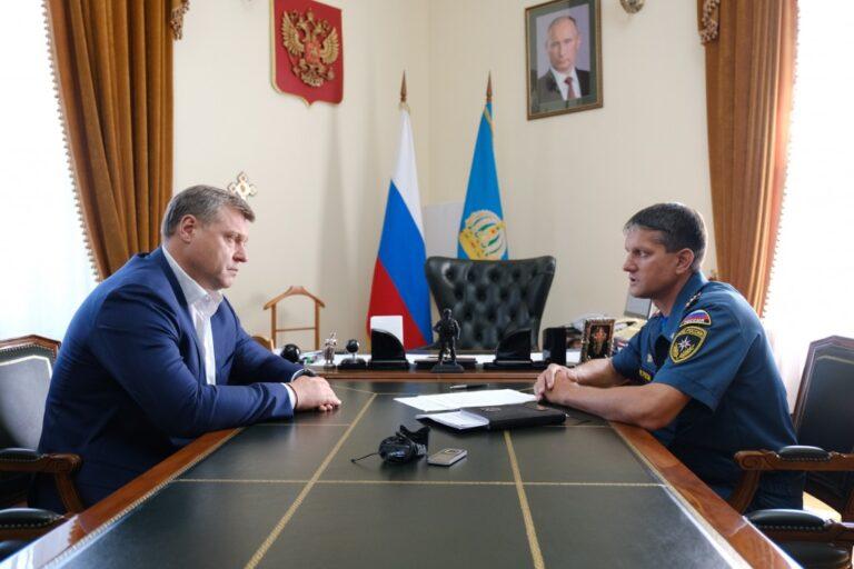 Астраханская область предложила помощью Казахстану в тушении природных пожаров