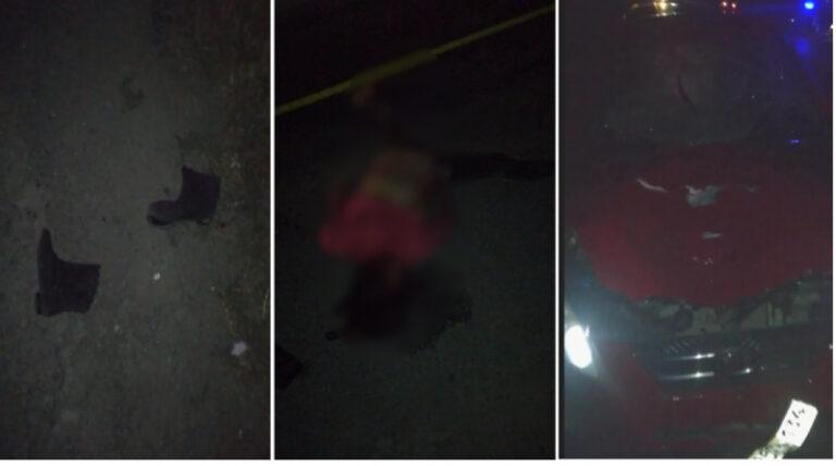Под Калачом женщину на ночной трассе насмерть переехали две машины