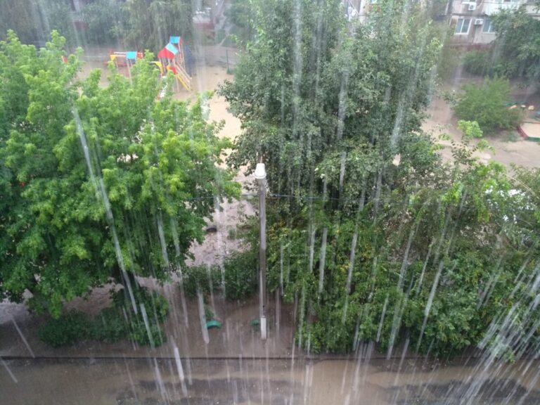 В Волгоград придут затяжные дожди