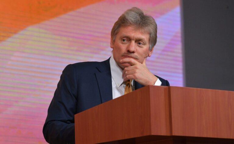 Песков о COVID-19 в России: «Ситуация достаточно тяжёлая»