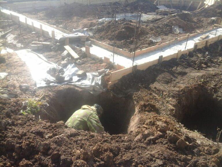 В Волгограде во время строительства дома нашли останки десяти солдат