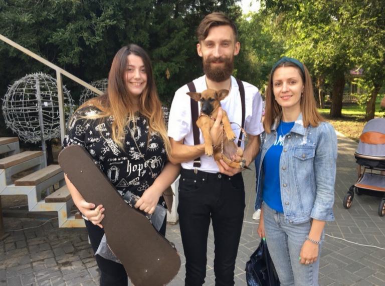 В Волгограде в Горсаду будут раздавать бездомных щенков