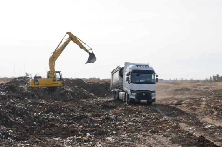В Дубовском районе ликвидируют многолетнюю свалку
