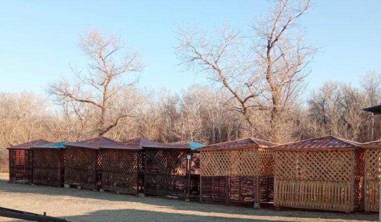 Сберегут от паводка и вандалов: туристические стоянки в парке «Донской» подготовили к зиме