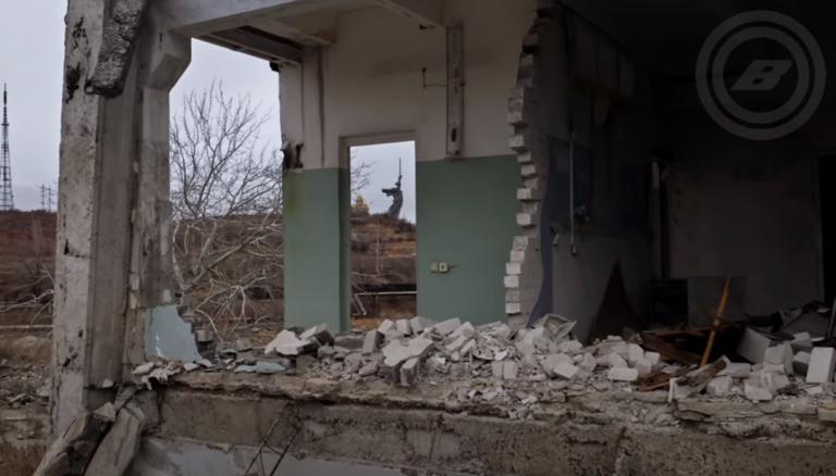 Разрушенный метизный завод в Волгограде показали с высоты
