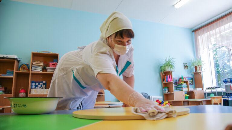 Волгоградский Роспотребнадзор выявил детские сады, работающие в пандемию с нарушениями