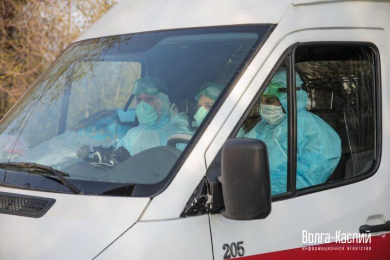 В Волгограде за сутки коронавирус диагностировали почти у сотни горожан