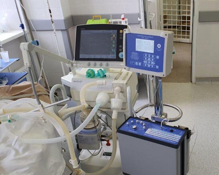 В волгоградские госпитали поступило оборудование для лечения пациентов с COVID-19 оксидом азота