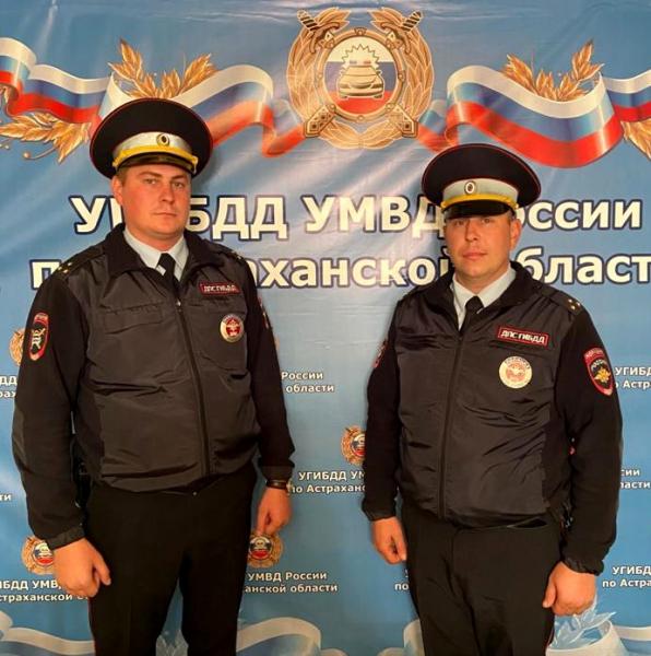 Астраханские госавтоинспекторы помогли спасти жизнь ребенку из Чеченской республики