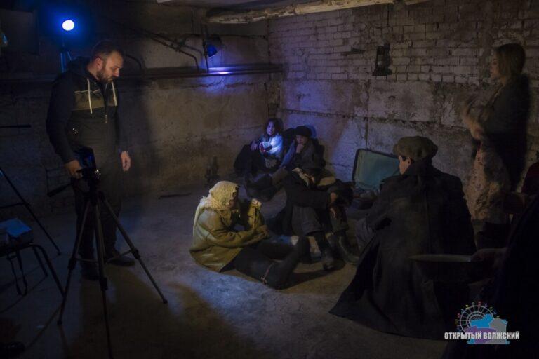 В Волжском сняли фильм о Сталинградской битве