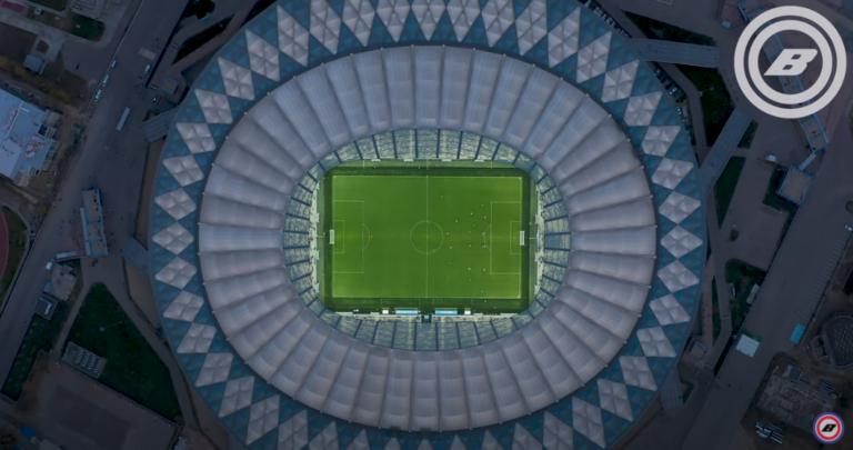 «От фундамента до FIFA»: этапы строительства «Волгоград Арены» показали с высоты