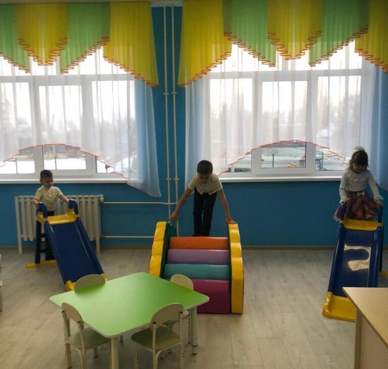 Новый детский сад на 140 мест открыл двери в Городищенском районе