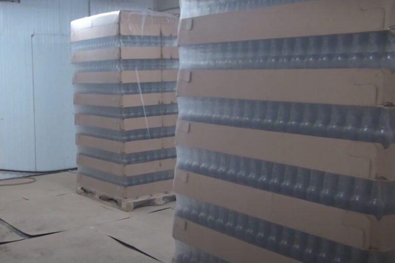 В Волгограде УФСБ пресекло производство контрафактного алкоголя в промышленных масштабах