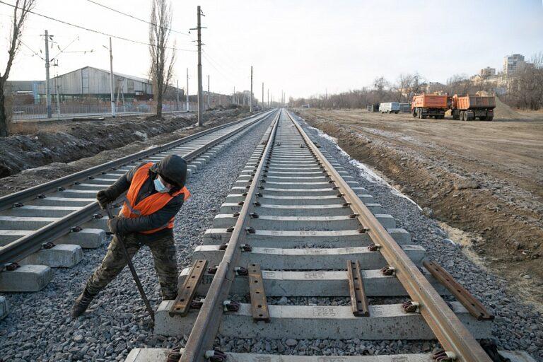 В Волгограде впервые за 36 лет масштабно реконструируют трамвайную линию
