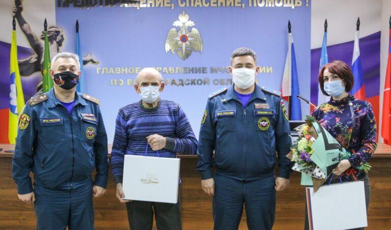 В волгоградском Главке МЧС почтили память сотрудников, погибших при исполнении