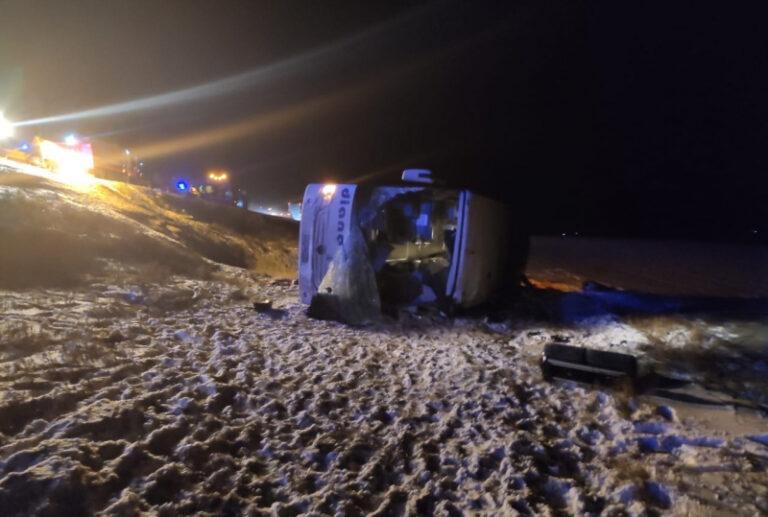 Четыре человека погибли в рейсовом автобусе «Москва — Волгоград» под Рязанью