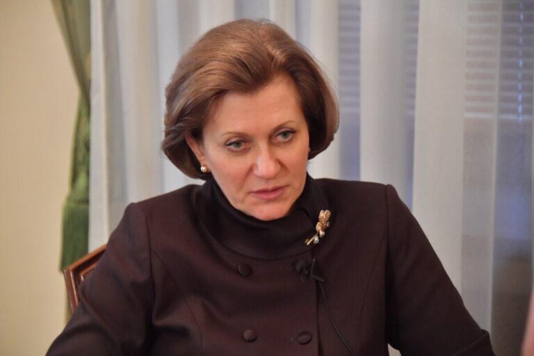 Анна Попова назвала, когда в России выявили нулевого пациента с COVID-19