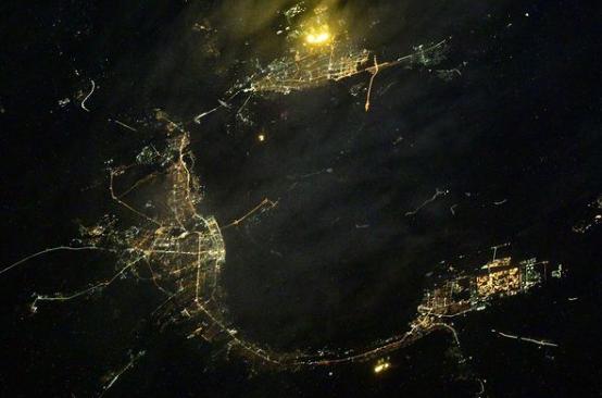 «Угадайте город»: космонавт Роскосмоса показал Волгоград с высоты