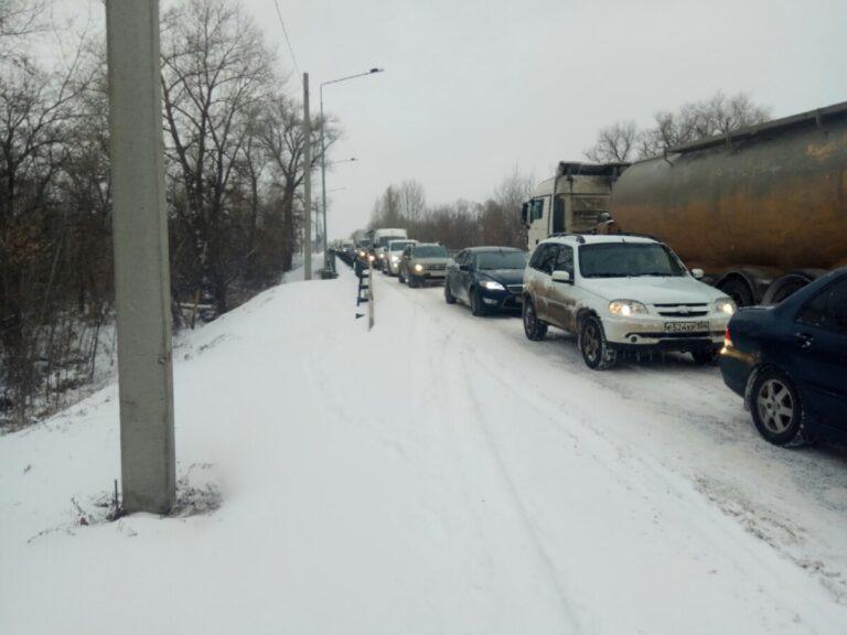 В Волгоградской области из-за непогоды прекращено движение междугородних автобусов
